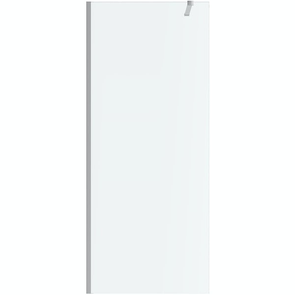 Mode Burton 8mm walk in shower enclosure pack with walk in tray
