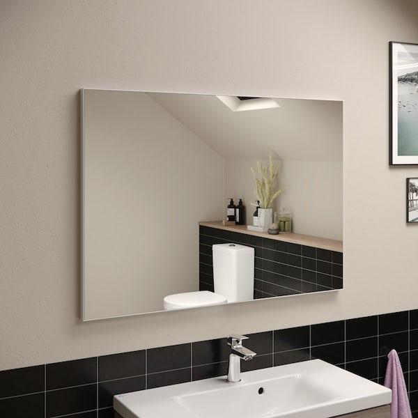 Ideal Standard framed mirror 1000 x 700mm