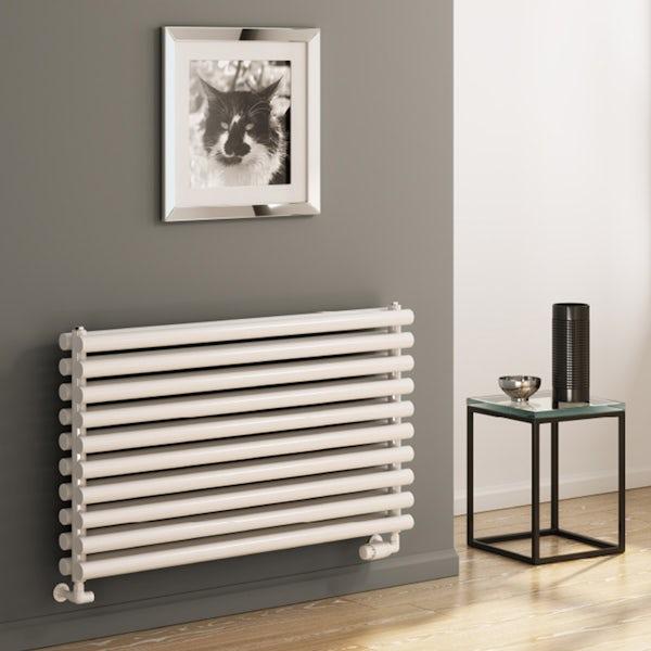 Reina Roda white double steel designer radiator