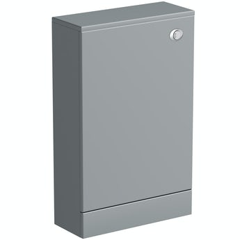 Orchard Derwent stone grey back to wall toilet unit 500mm