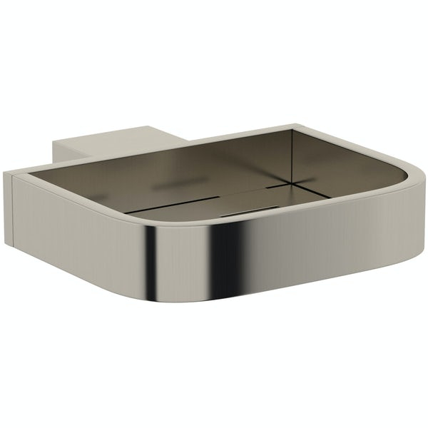 Mode Spencer brushed nickel soap dish