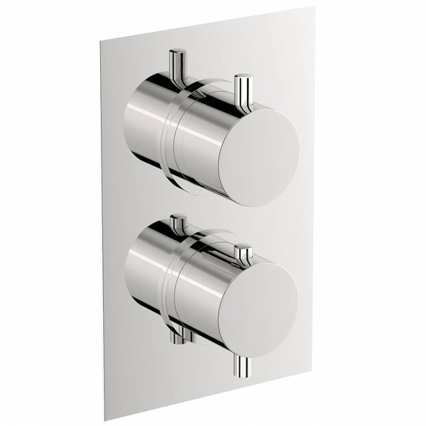 Matrix Square Twin Valve with Diverter
