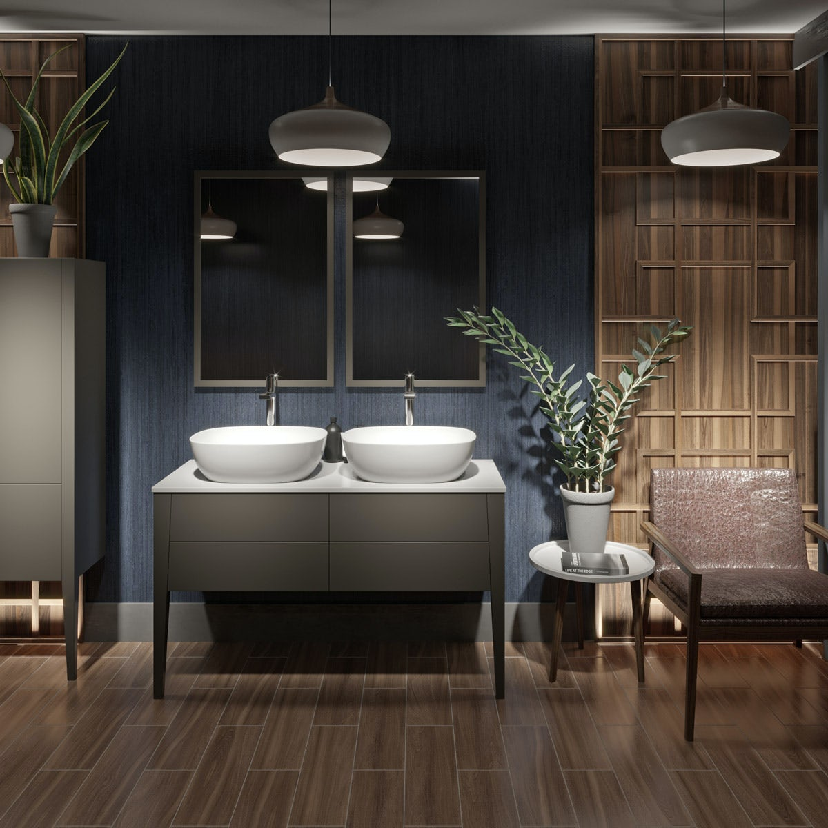 1200 Vanity Double Sink Vanity Decorating Ideas