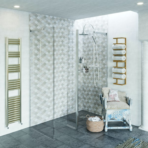 Showerwall Custom Paseo acrylic shower wall panel