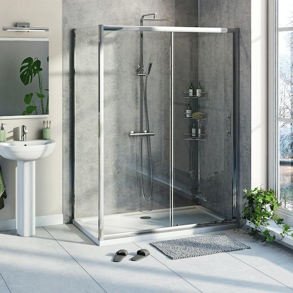 Orchard Kemp 6mm sliding shower enclosure