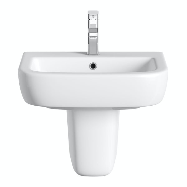 Mode Ellis semi pedestal basin