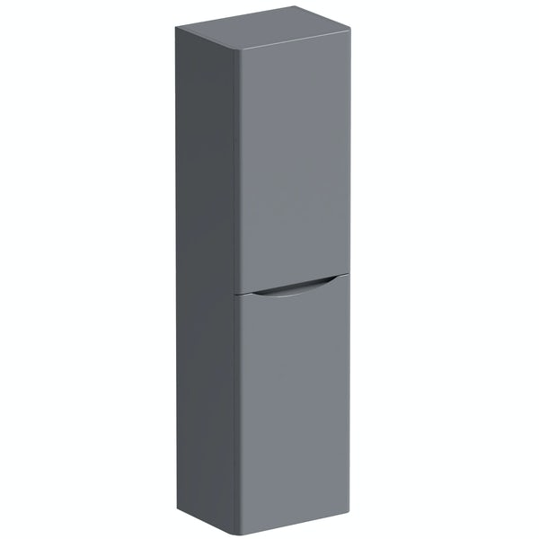 Mode Adler grey wall cabinet