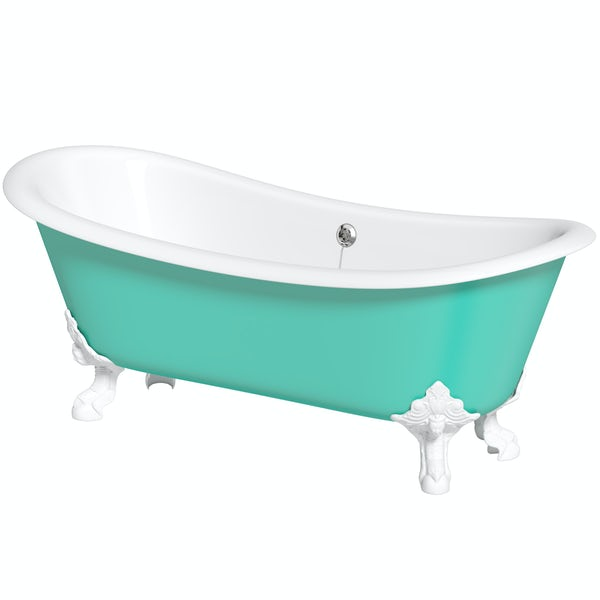 Artist Collection Green Bee cast iron bath