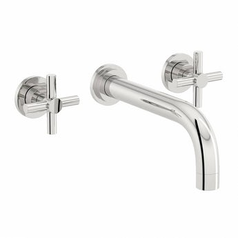 Mode Tate wall mounted basin filler tap offer pack