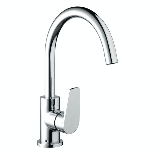 Bristan Raspberry easyfit single lever kitchen mixer tap