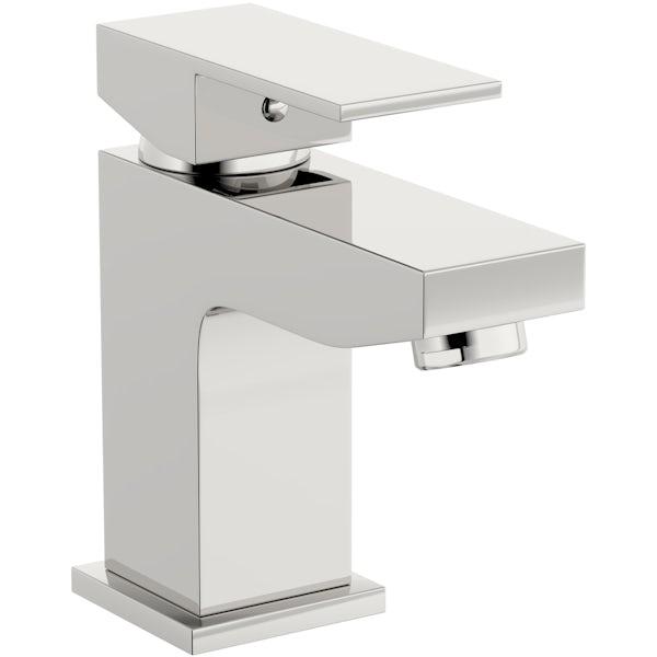 Kirke Cubic basin mixer tap