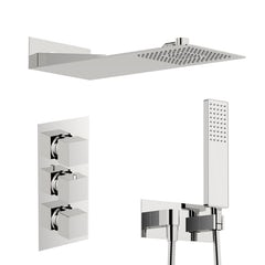 Main image for Mode Ando thermostatic mixer shower with handset and wall shower head