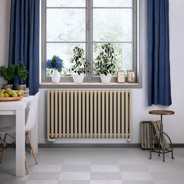 Terma Triga quartz mocha designer radiator