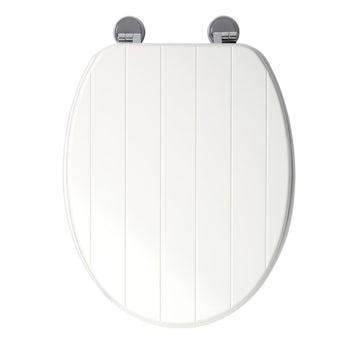 Croydex New England white toilet seat