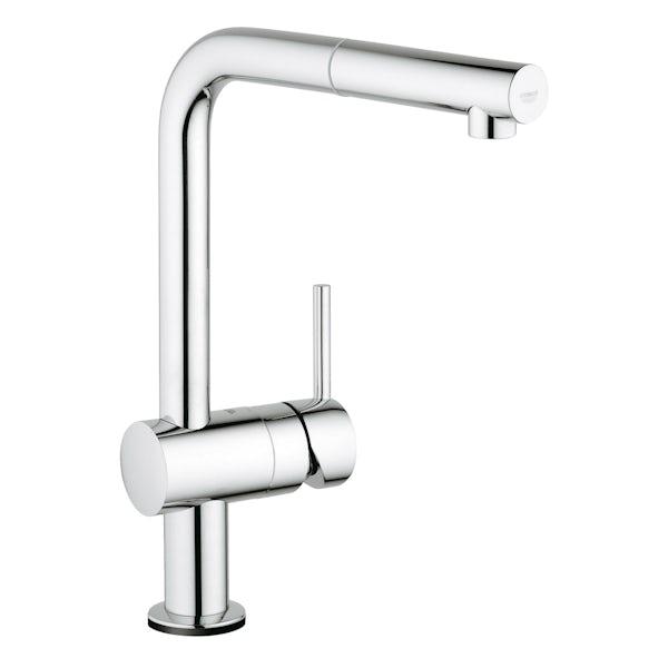 Grohe Minta Touch L spout kitchen tap