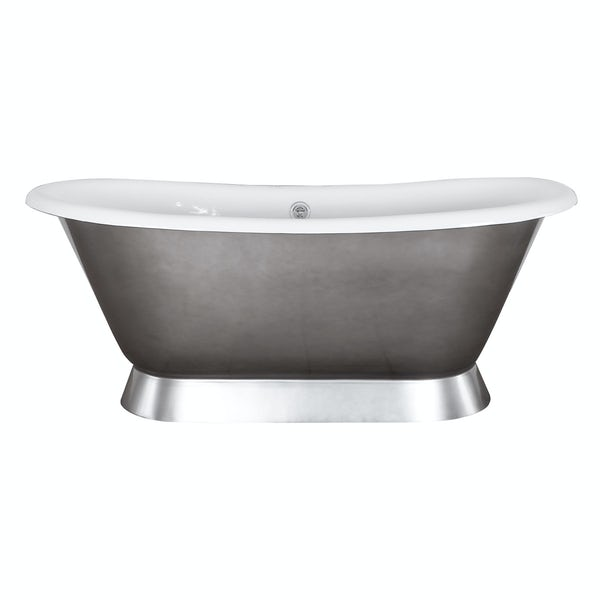 The Bath Co. Stirling polished cast iron bath
