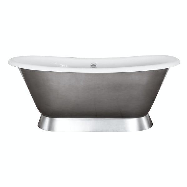 Belle de Louvain Stirling polished cast iron bath