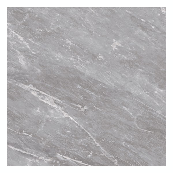 British Ceramic Tile Harmony Marble light grey matt floor tile 498mm x 498mm