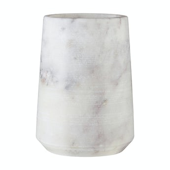 Accents White marble tumbler