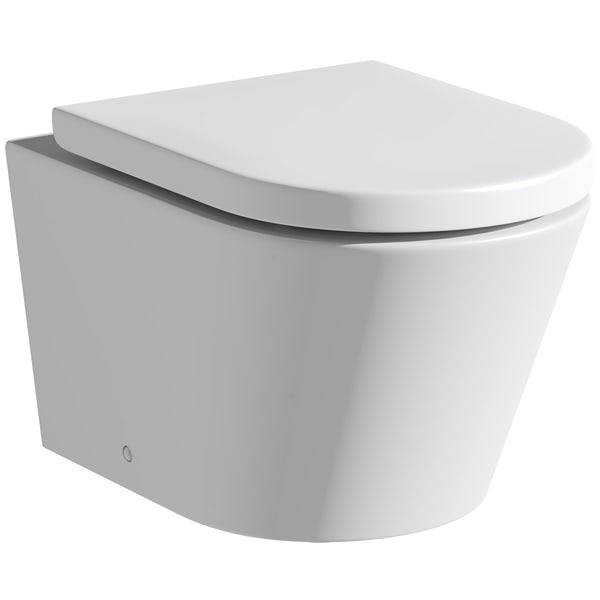 Mode Tate rimless wall hung toilet