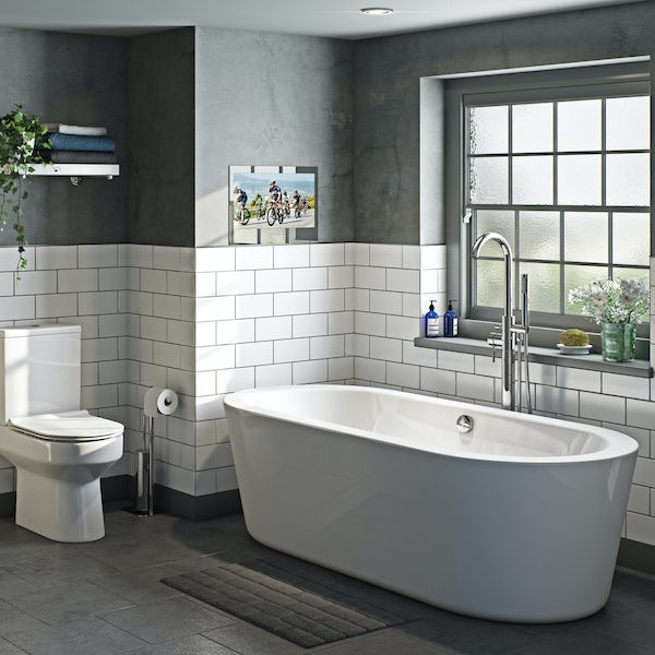 Orchard Eden freestanding bath 1490 x 800
