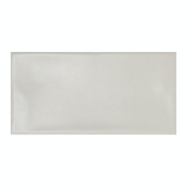 Annecy light grey matt wall tile 75mm x 150mm