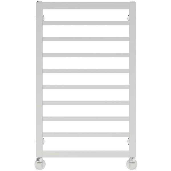 Mode Burton chrome heated towel rail