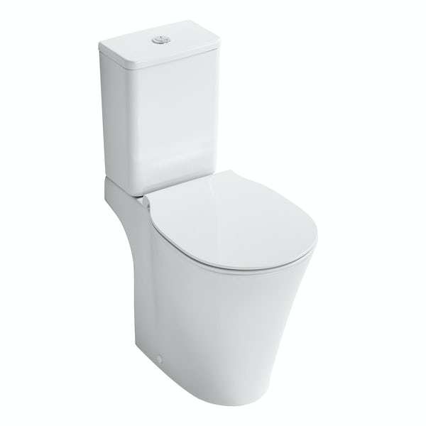 Ideal Standard Concept Air complete left hand Idealform Plus shower bath suite 1700 x 800