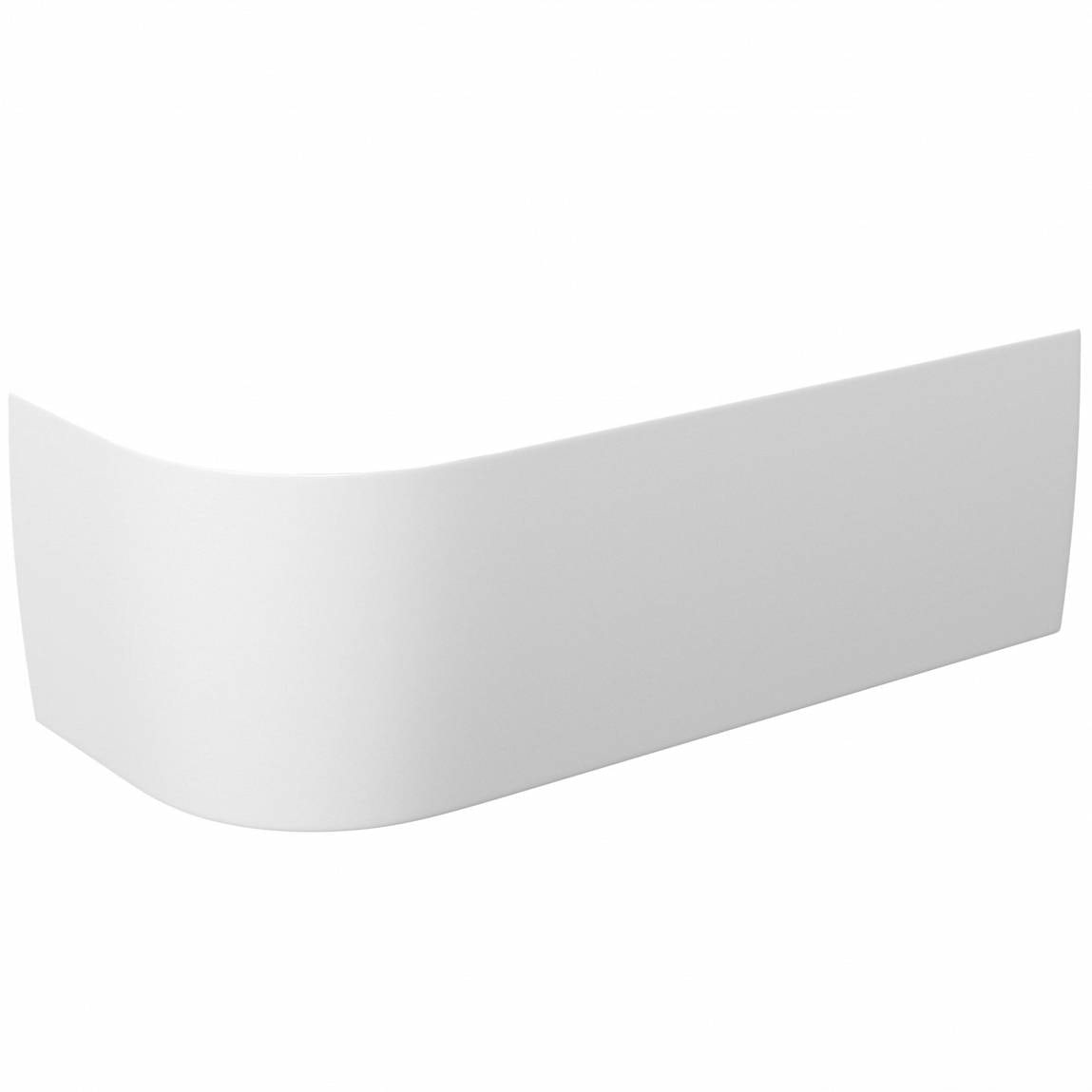 Elsdon D-Shaped Back to Wall Corner Bath Panel RH