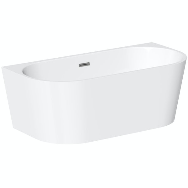 Mode Cooper back to wall freestanding bath 1700 x 800