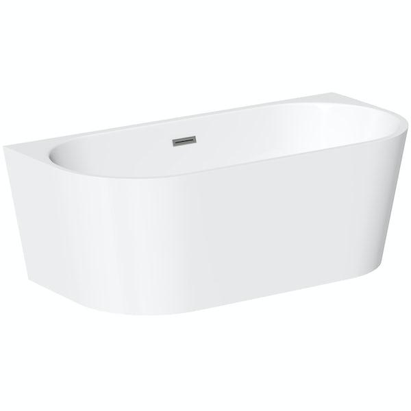 Mode Cooper back to wall freestanding bath 1700 x 800