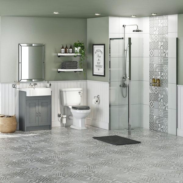 The Bath Co. Dulwich complete wet room enclosure suite