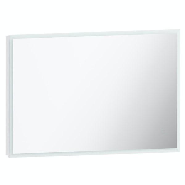 Mode Mayne LED illuminated mirror 600 x 1000mm with demister