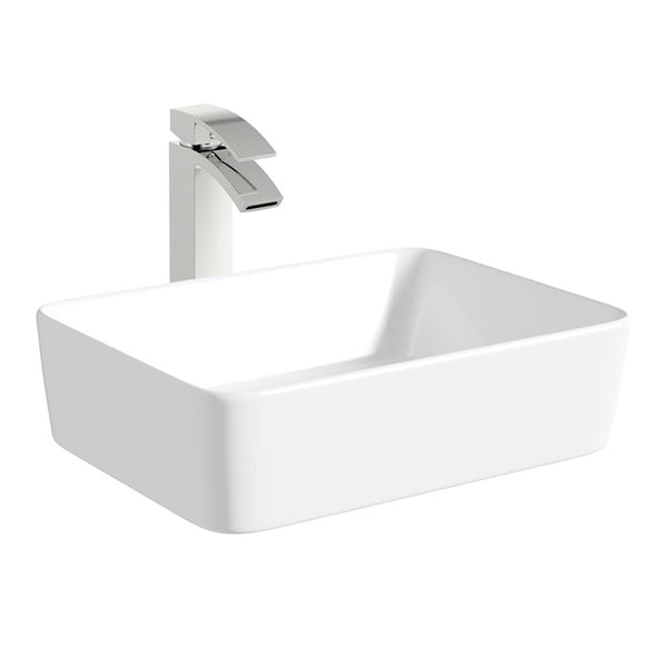 Mode Ellis countertop basin 485mm with tap