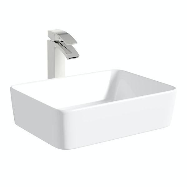 Mode Ellis countertop basin 485mm with tap