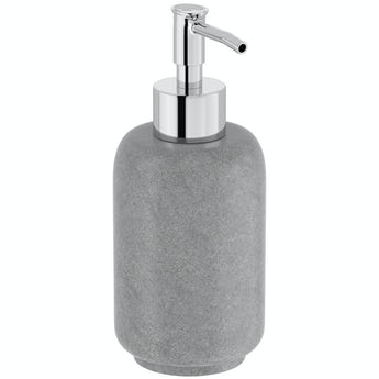 Orchard Mineral grey resin soap dispenser