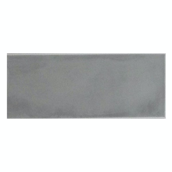 Chateau grey bumpy matt wall tile 200mm x 500mm