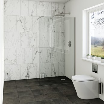 Orchard 8mm wet room glass panel