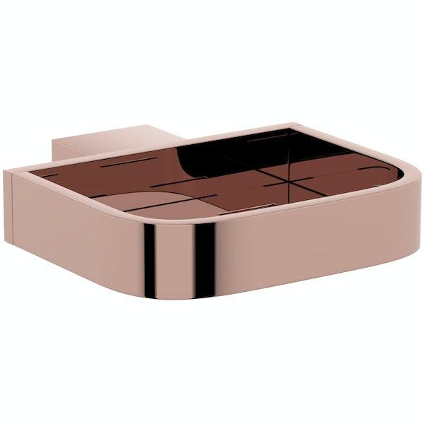 Mode Spencer rose gold soap dish