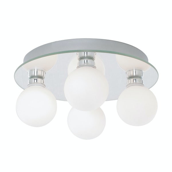 Searchlight Global 4 light bathroom ceiling light