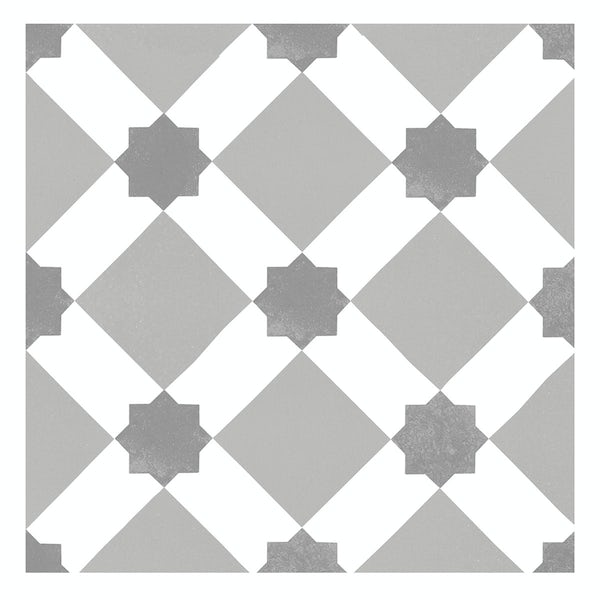 Seville Tia traditional matt wall and floor tile 450mm x 450mm
