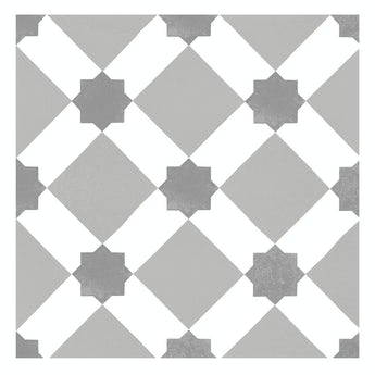 Lucena Tia traditional matt wall and floor tile 450mm x 450mm
