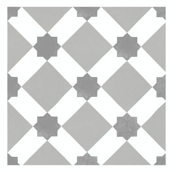 Seville Tia traditional matt wall and floor tile 450mm x 450mm
