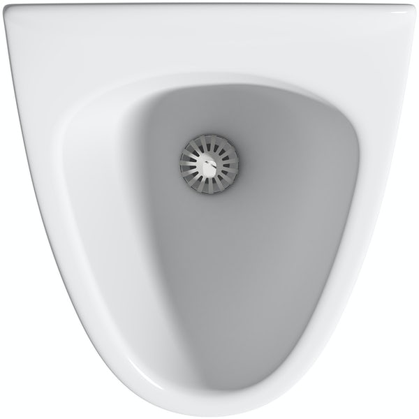 RAK Venice waterless urinal with waste system and cartridge