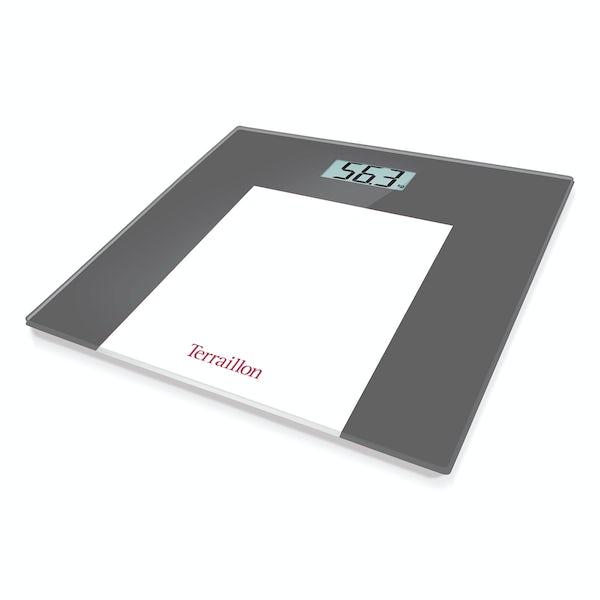 Terraillon TP1000 Borders grey LCD bathroom scale
