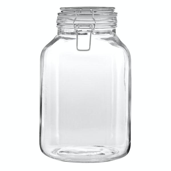 Glass 3000ml storage jar