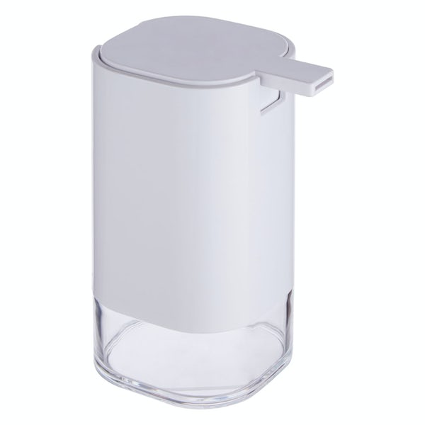 Accents White acrylic soap dispenser