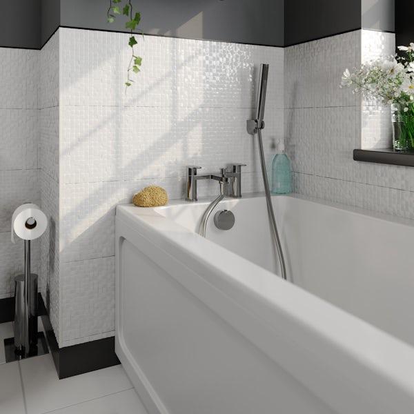 Kirke WRAS Curve bath shower mixer tap