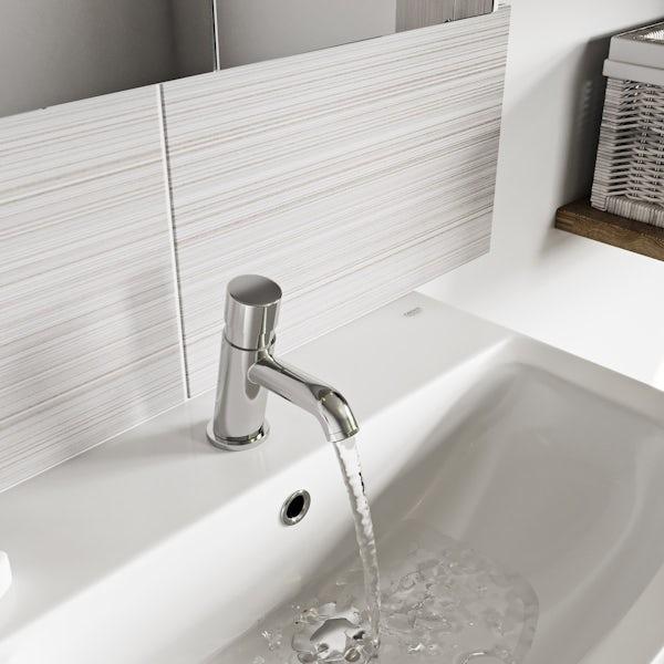 Kirke Non-concussive basin mixer tap