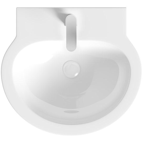 Mode Click clack slotted ceramic basin waste